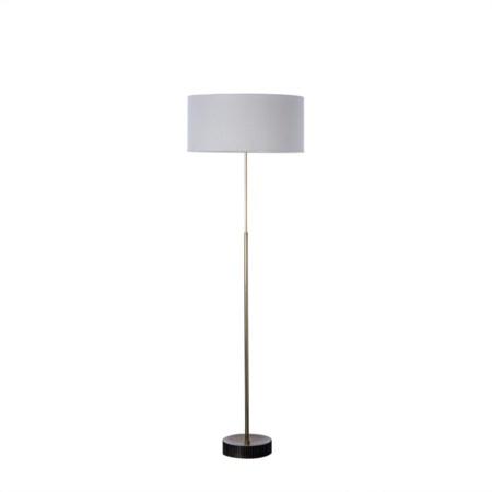 Gear Floor Lamp - Burned Brass / 120v US
