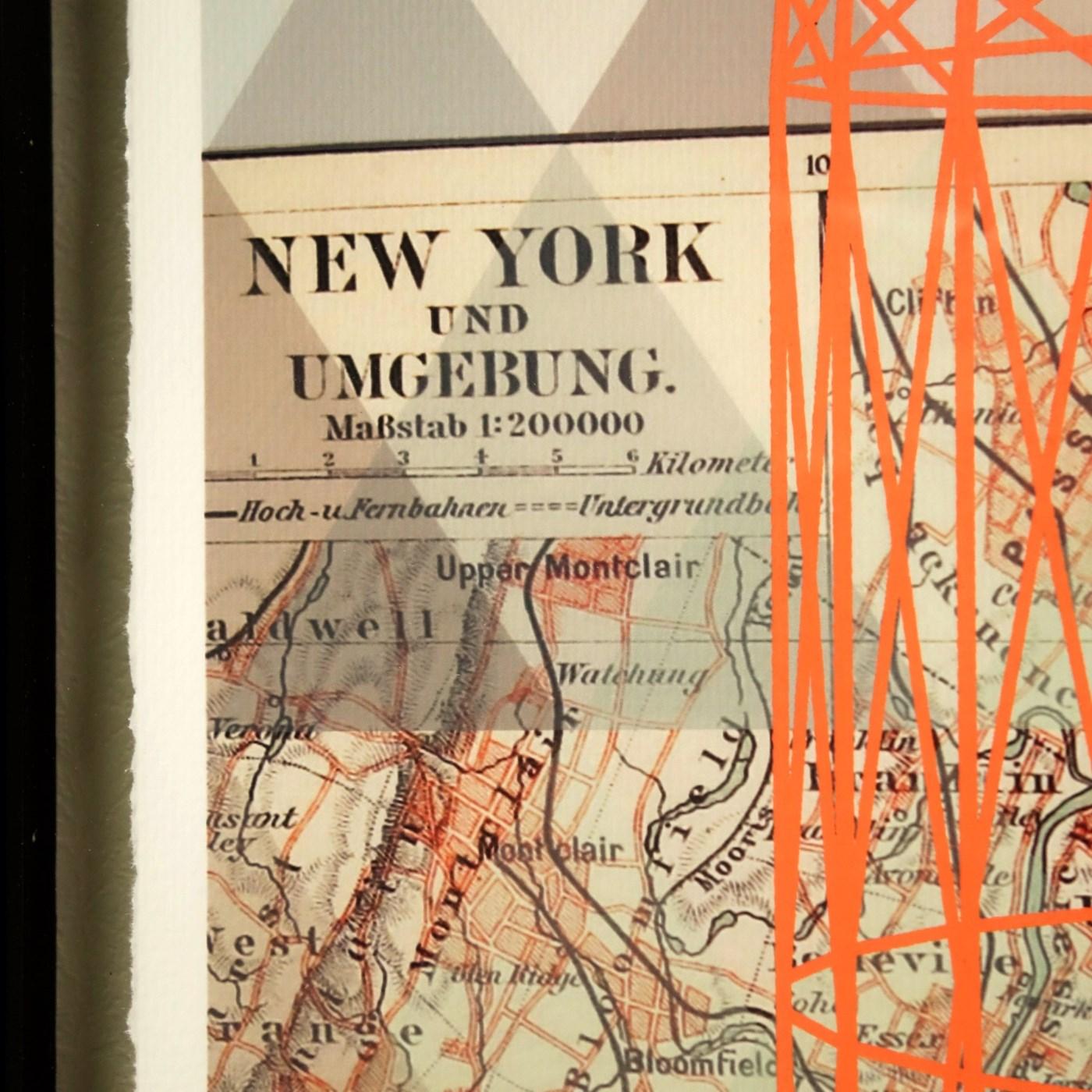 Vintage Map - New York City