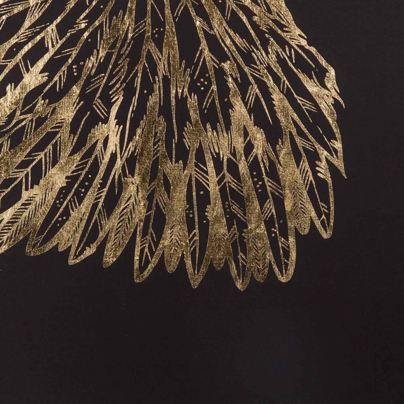 Gold Wings - Black