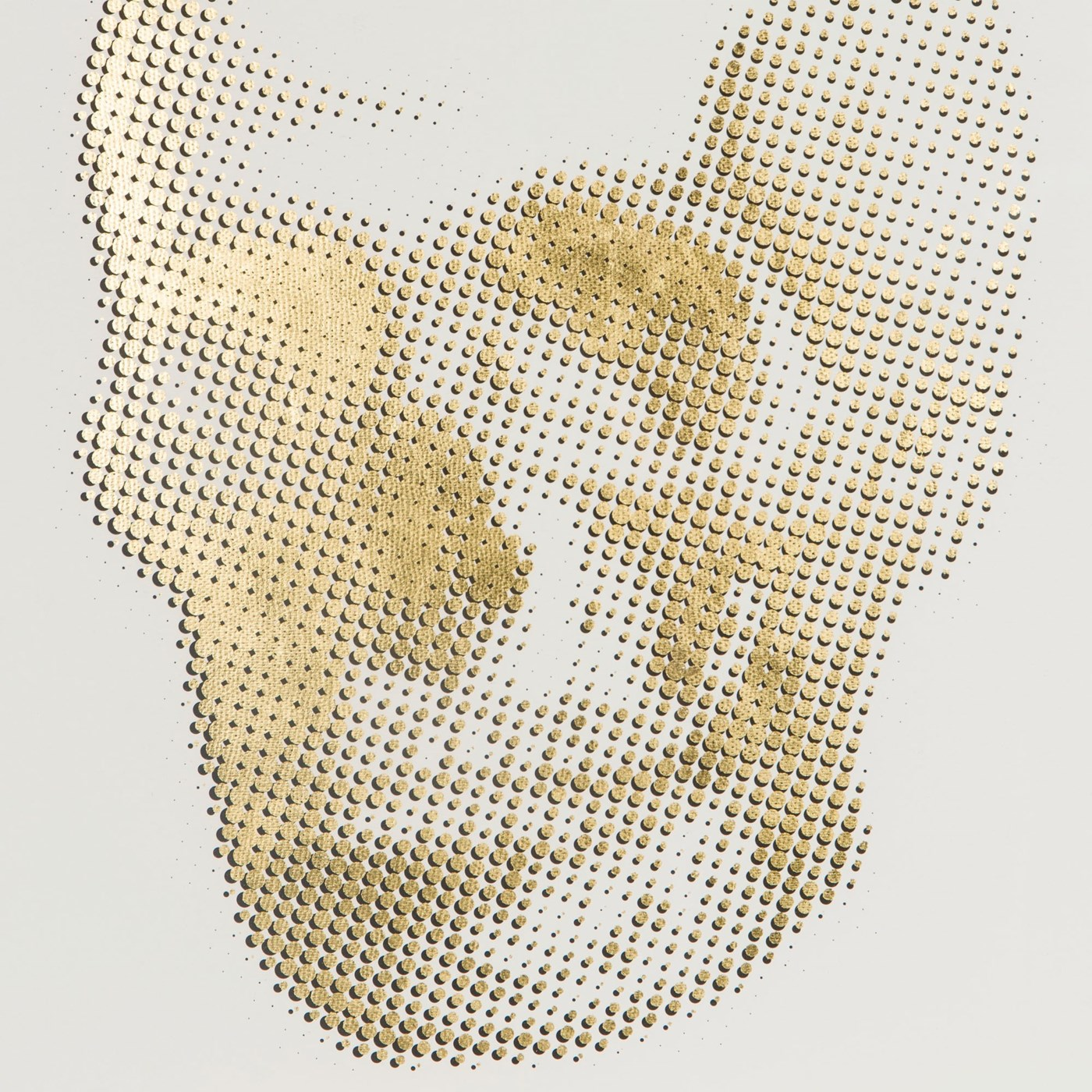 Gold Skeleton - Skull