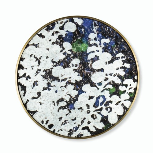 Silver Leaf Floral - Small