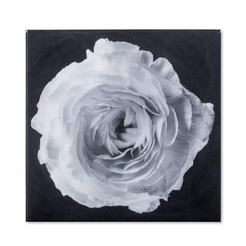 Black & White Flower - Epoxy / B