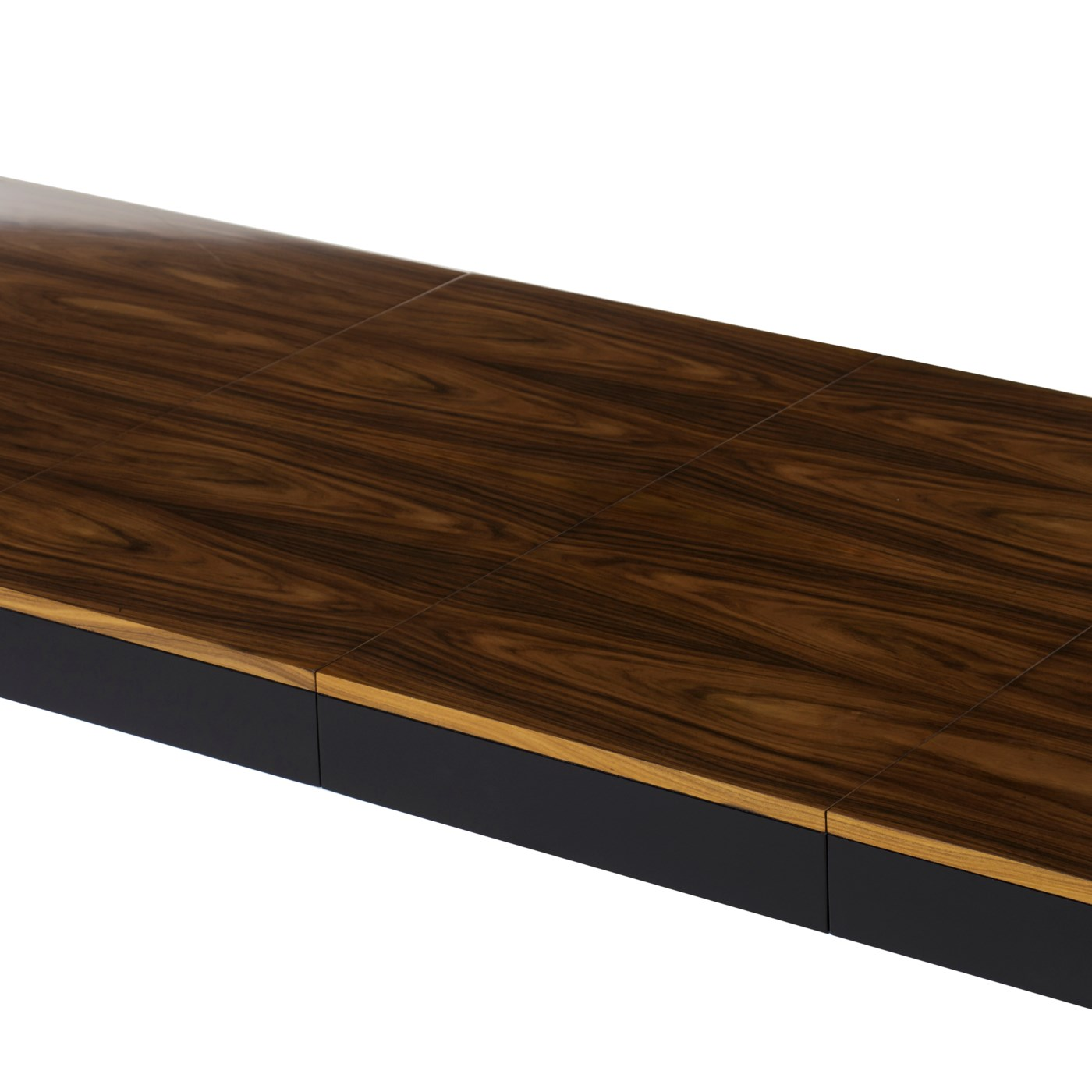 Reform Dining Table - Black & Rosewood