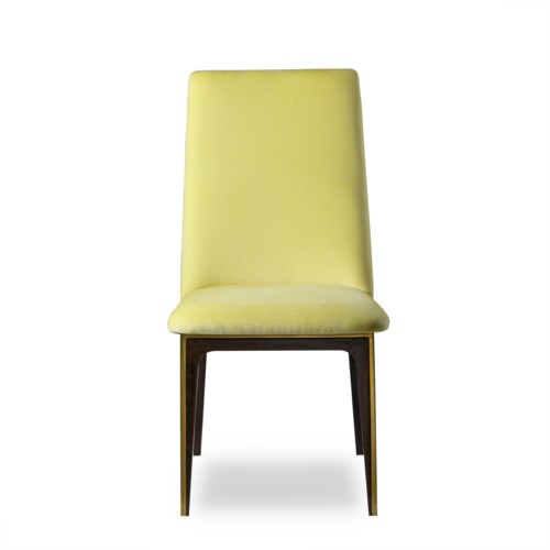 Silhouette Dining Chair - Canary Yellow