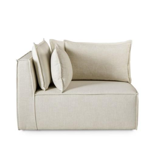 Charlton Modular Sofa - Corner Chair / Madison Dove