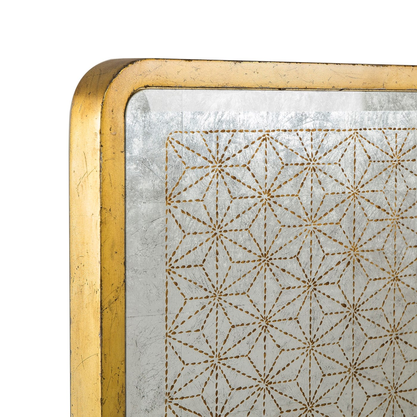 Gilded Star Mirror Bed - US King
