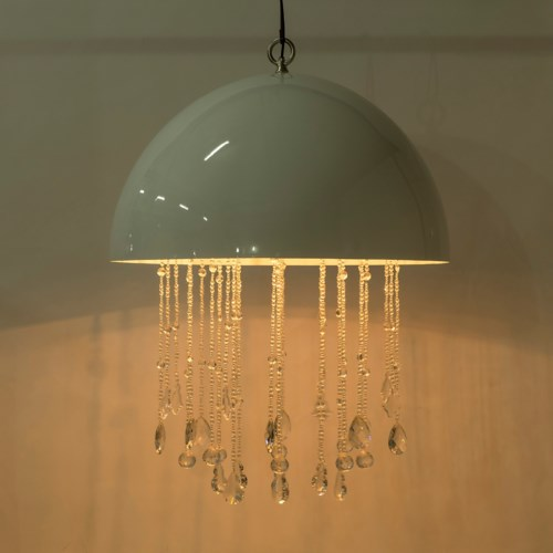 Lunar Chandelier - Large / White / 120v US