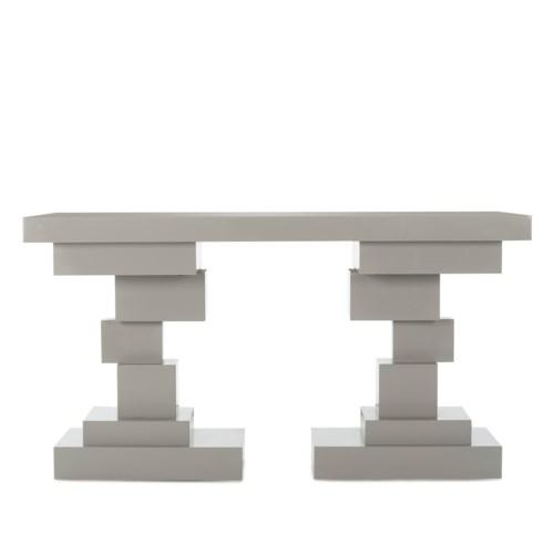 Morgan Console Table - Grey Lacquer