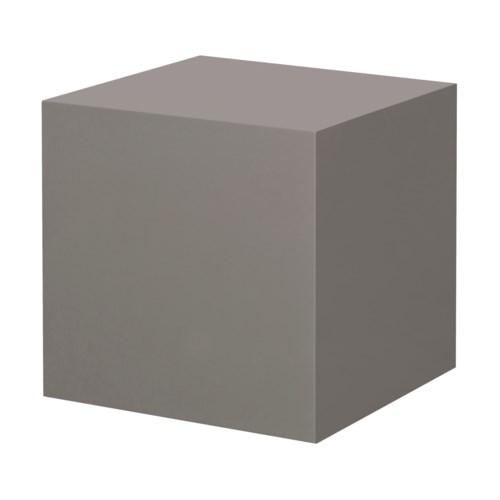 Morgan Accent Table - Square / Warm Taupe Lacquer