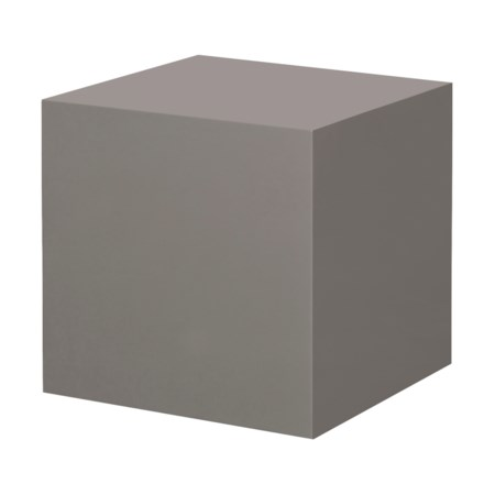 Morgan Accent Table - Square / Warm Taupe Lacquer
