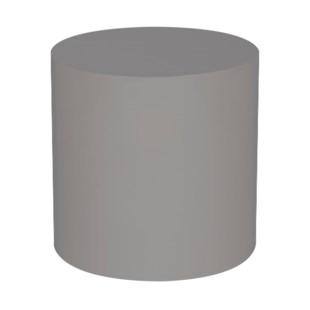 Morgan Accent Table - Round / Warm Taupe Lacquer