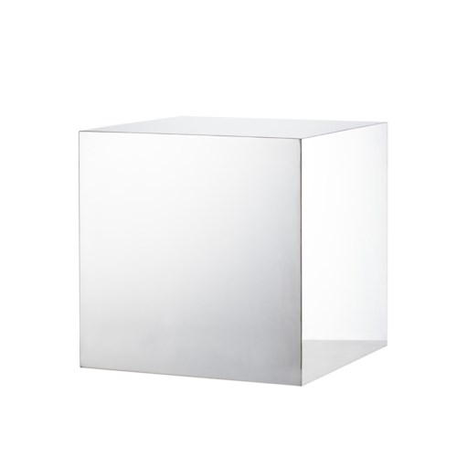 Morgan Accent Table - Square / Stainless Steel