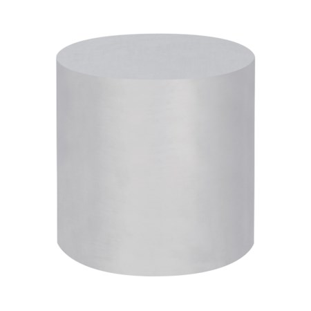 Morgan Accent Table - Round / Stainless Steel
