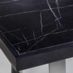 Joplin Dining Table - Black Marble