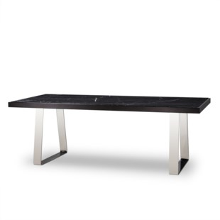 Joplin Dining Table - Black Marble