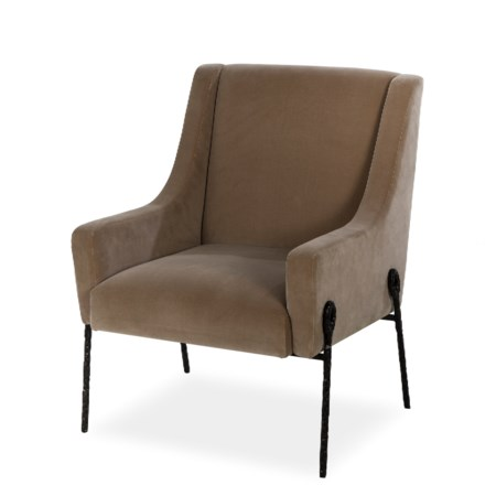 Bailey Occasional Chair - Vadit Mushroom