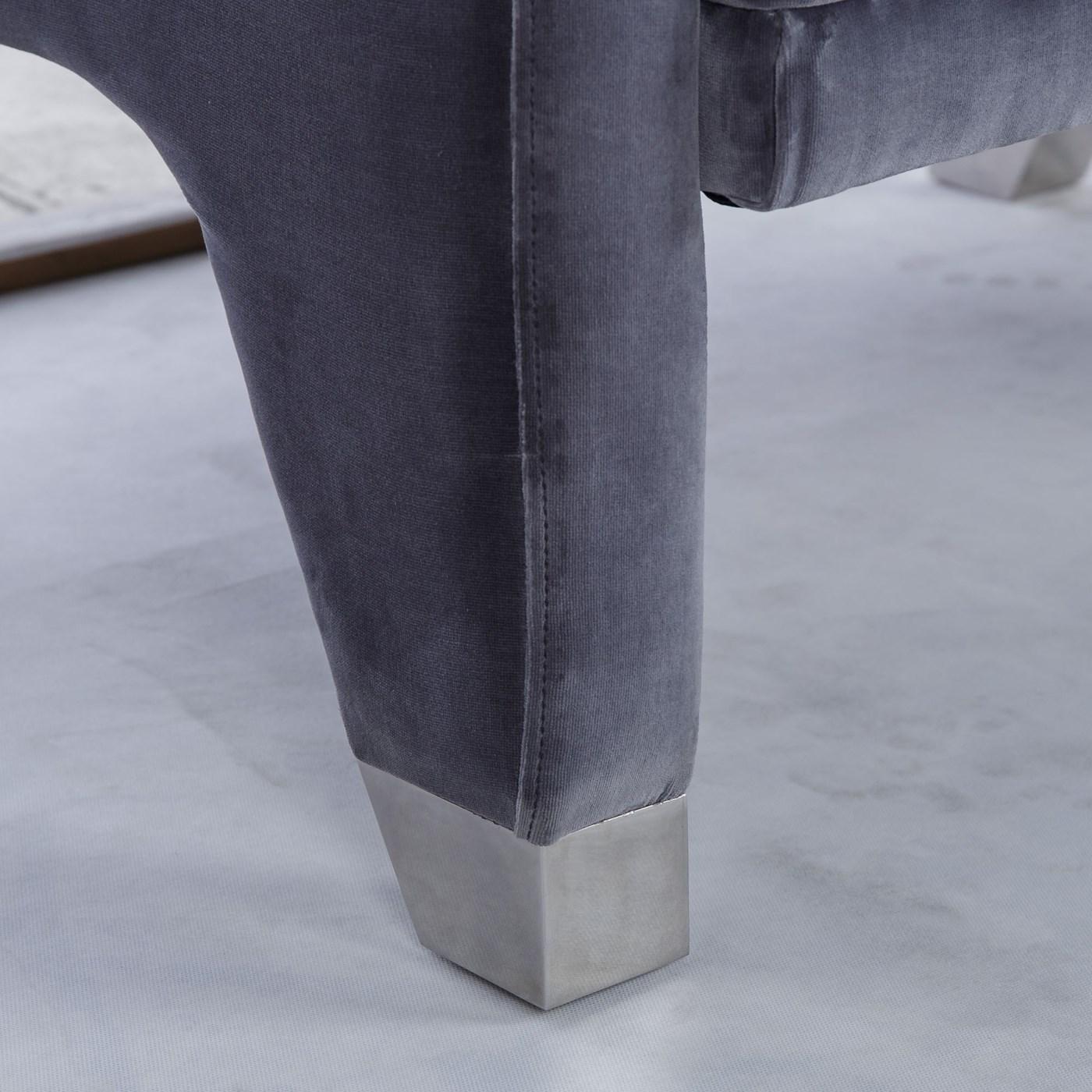 Lyndon Ottoman - Vadit Dark Grey