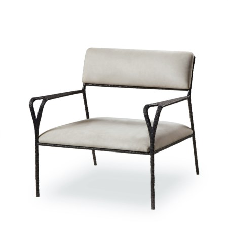 Avalon Lounge Chair - Black Frame/Nubuck