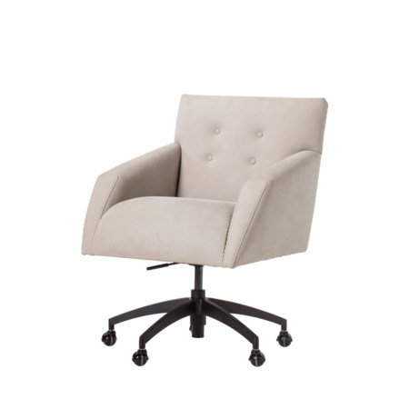 Kelly Office Chair - Nubuck Leather