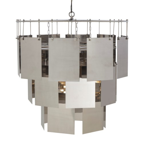 Marilyn Chandelier - Large / Stainless Steel / 120v US