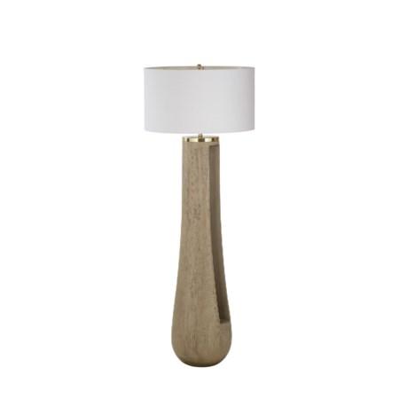 Gray Floor Lamp / 120v US