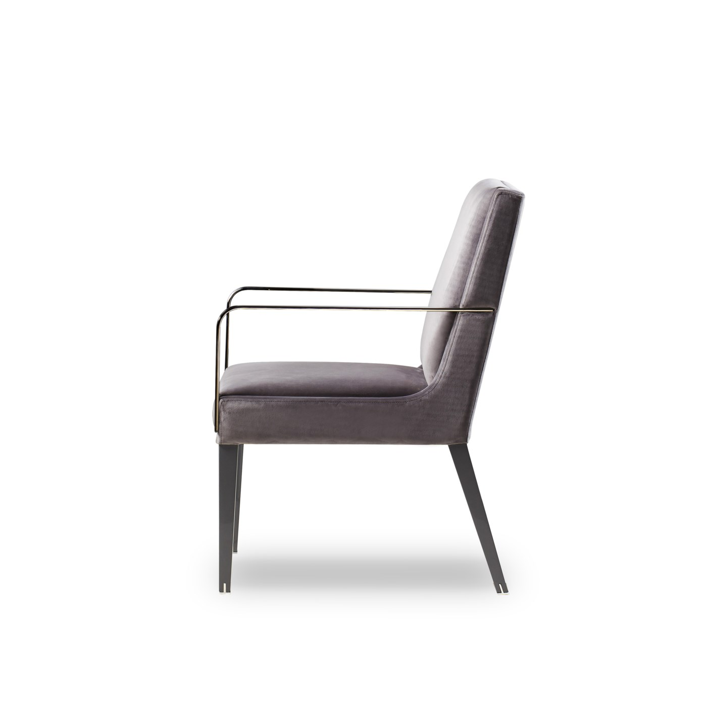 Lowry Dining Arm Chair - Victor Smoke