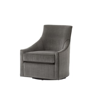 Fraser Swivel Chair - Vienna Graphite