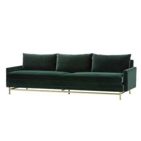 Jasper Sofa - Vadit Emerald Green / Large