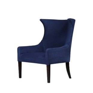 Hamish Dining Armchair - Fitz Indigo Leather