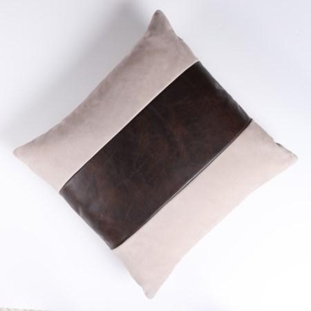 Throw Pillow - 56 x 56, Finley Beige body