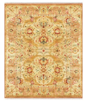 PAVILLION II 6087F IN GOLD/GOLD 4' x 6'