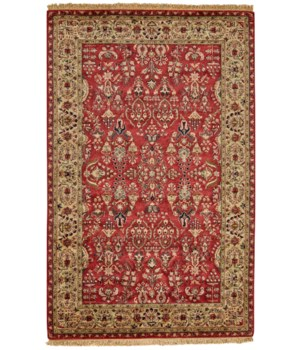 AMORE 8327F IN RED/LIGHT GOLD 2' x 3'
