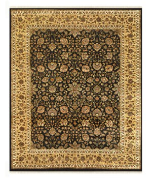 "SOPHIA 6581F IN BLACK/GOLD 5'-6"" x 8'-6"""