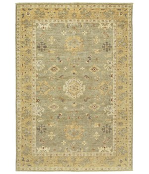"ADOLPHUS 0927F IN SAGE/GOLD 2'-6"" X 10'"