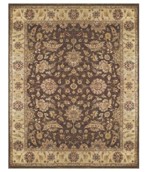 DRAKE 6049F IN BROWN/BEIGE 8' x 8' Round