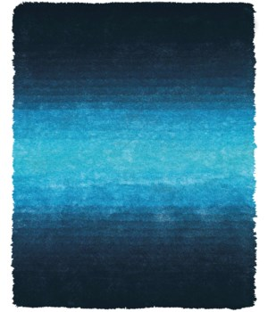 INDOCHINE 4551F IN BLUE 2' X 3'-4""