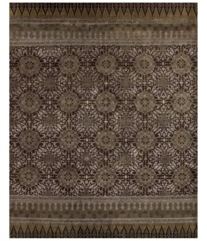"ANCHALA 6139F IN BROWN 9'-6"" x 13'-6"""