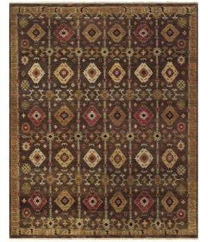 ASHI 6129F IN BROWN 2' x 3'