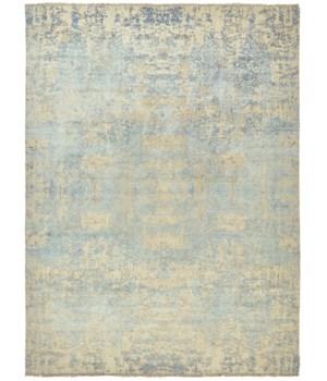 "DOSHI 6033L IN WHITE/LIGHT BLUE 7'-9"" x 9'-9"""