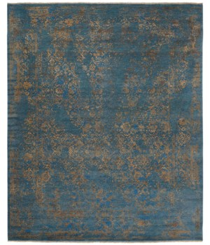 """DOSHI 6036L IN TEAL 7'-9"""" x 9'-9"""""""