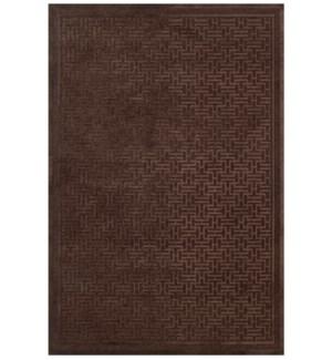 SAPHIR AZAR 3097F IN DARK CHOCOLATE-DARK CHOCOLATE