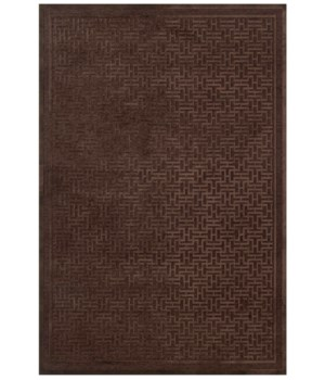 "SAPHIR AZAR 3097F IN DARK CHOCOLATE/DARK CHOCOLATE 5'-3"" X 7'-6"""