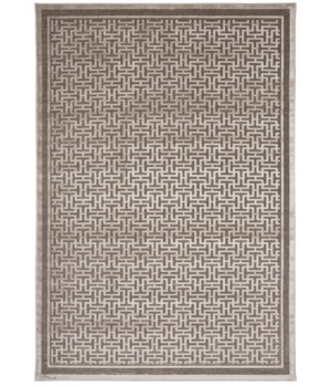 "SAPHIR ZAM 3097F IN PEWTER/LIGHT GRAY 2'-2"" x 4'"