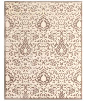"SAPHIR ZAM 3115F IN CREAM/GRAY 2'-2"" x 4'"