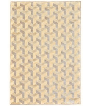 "SAPHIR ZAM 3253F IN CREAM/SILVER 2'-2"" x 4'"