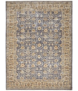 """OURAY 6133F IN BLUE/IVORY 5'-6"""" x 8'-6"""""""