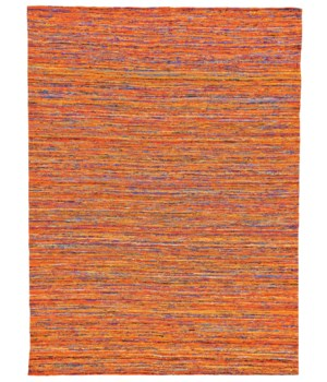 ARUSHI 0504F IN ORANGE/MULTI 8' X 11'
