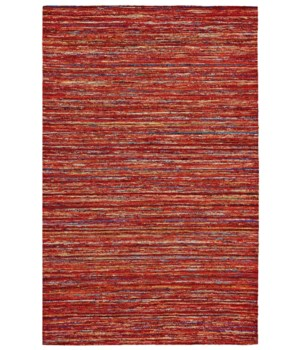 ARUSHI 0504F IN RED/MULTI 2' x 3'