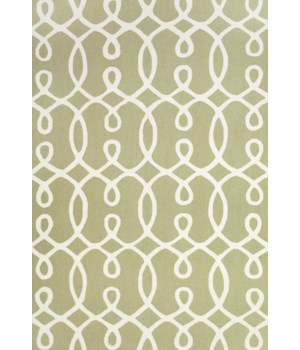 "CETARA 4105F IN GREEN/WHITE 3'-6"" x 5'-6"""