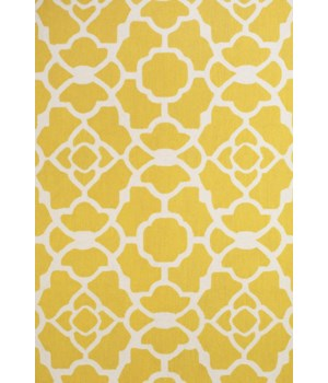 "CETARA 4106F IN YELLOW/WHITE 3'-6"" x 5'-6"""